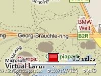 Olympiapark München / Offizielle 24 H Marathonstrecke