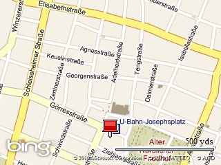 Startpunkt: Josphsplatz
