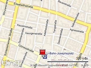 Startpunkt: Josephsplatz München