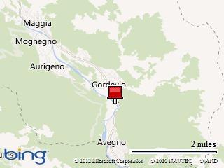 Startpunkt: Gordevio, Hotel Casa Ambica